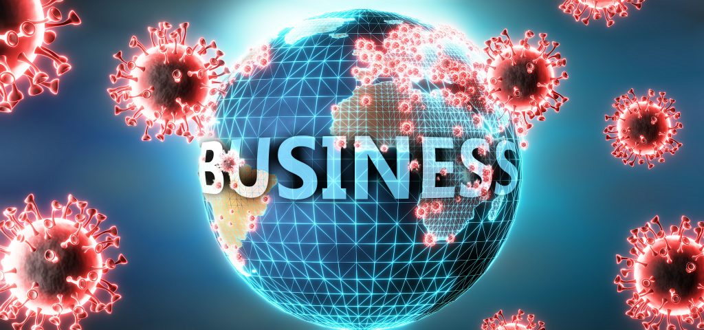 Business and Covid virus